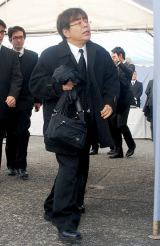 歌舞伎俳優の中村勘三郎さんの本葬に参列した小倉久寛 (C)ORICON DD inc.