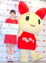 『はたちの献血キャンペーン』の発表会に出席した武井咲 (C)ORICON DD inc.