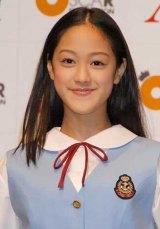 オスカー美少女ユニット『X21』の若山あやの(15・中学3年生)(C)ORICON DD inc.