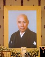 今月3日、肺炎のため亡くなった歌舞伎俳優・市川團十郎さんの遺影 (C)ORICON DD inc.