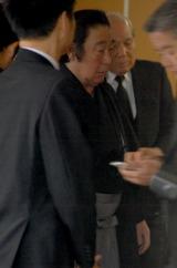 歌舞伎俳優・市川團十郎さんの本葬に参列した尾上菊五郎 (C)ORICON DD inc.