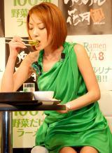『らあめん花月嵐 ベジラーメンNANA PRキャンペーン』に出席した西川史子 (C)ORICON DD inc.