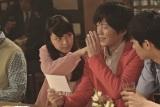 第一生命保険『順風ライフ パワーメディカル』の新CMに出演する(左から)、武井咲、田辺誠一、東出昌大