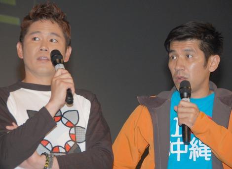 沖縄国際映画祭の特集上映イベントに出席した(左から)ガレッジセールの川田広樹、ゴリ (C)ORICON DD inc.