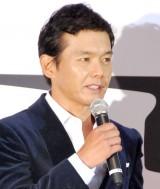 映画『探偵はBARにいる2〜ススキノ大交差点〜』の完成披露試写会に出席した渡辺篤郎 (C)ORICON DD inc.