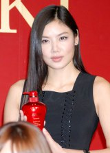 ヘアケアブランド『TSUBAKI』の新モデルに起用された香港女優のゲイリ・ライ (C)ORICON DD inc.