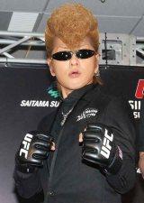 「UFC JAPAN 2013」大会サポーター就任発表会に出席した氣志團の綾小路翔 (C)ORICON DD inc.