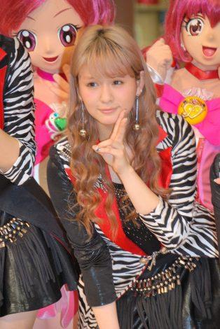 新曲「アジアンセレブレイション」発売記念ライブに出席したBerryz工房・菅谷梨沙子 (C)ORICON DD inc.