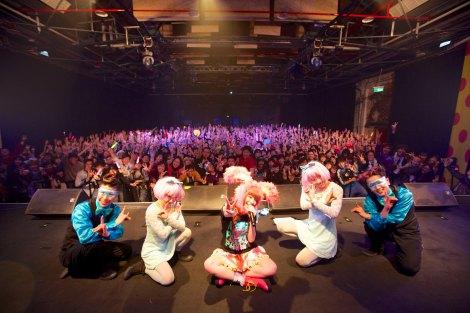初の台湾単独公演を行ったきゃりーぱみゅぱみゅ Photo/Aki Ishii
