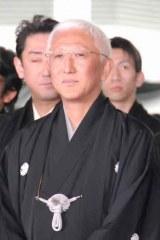 歌舞伎座新開場記念パレードに出席した中村時蔵 (C)ORICON DD inc.