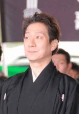 歌舞伎座新開場記念パレードに出席した中村福助 (C)ORICON DD inc.