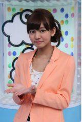 情報番組『ZIP!』の新しいお天気キャスターに抜てきされたにわみきほ(C)日本テレビ