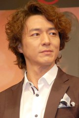 舞台『真田十勇士』の製作発表に出席した葛山信吾 (C)ORICON NewS inc.