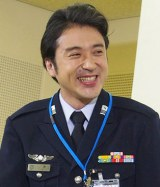 TBS系ドラマ『空飛ぶ広報室』の制作発表記者会見に出席したムロツヨシ (C)ORICON NewS inc.