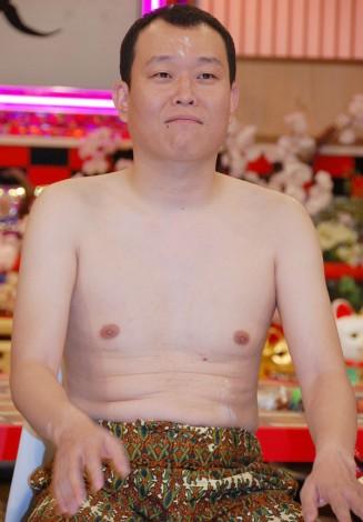 新番組『世界の村で発見!こんなところに日本人』の記者会見を行った千原せいじ (C)ORICON NewS inc.