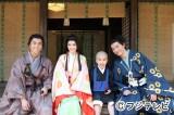 スペシャルドラマ『一休さん』に出演する鈴木福(中央右)、成宮寛貴(右)、倉科カナ(中央左)、中尾明慶(左)