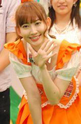 「メグたん」の衣装で登場したAKB48の小嶋陽菜 (C)ORICON NewS inc.