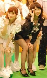 AKB48・Bチームの(左から)梅田彩佳、柏木由紀 (C)ORICON NewS inc.