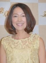 NHK新ドラマ『第二楽章』の会見に出席した羽田美智子 (C)ORICON NewS inc.