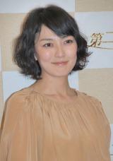 NHK新ドラマ『第二楽章』の会見に出席した板谷由夏 (C)ORICON NewS inc.