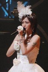 ブログで結婚を発表した美勇伝の元メンバー三好絵梨香(写真は活動最後の舞台となった2008年6月の単独コンサート時)(C)ORICON NewS inc.