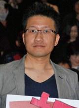 映画『HK/変態仮面』初日舞台あいさつに登場した原作者のあんど慶周氏 (C)ORICON NewS inc.