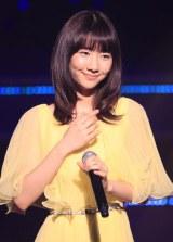 AKB48の恒例イベント『ユニット祭り2013』に出演した柏木由紀(撮影:草刈雅之)