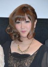 映画『いびつ』の初日舞台あいさつに出席した元AKB48の駒谷仁美 (C)ORICON DD inc.