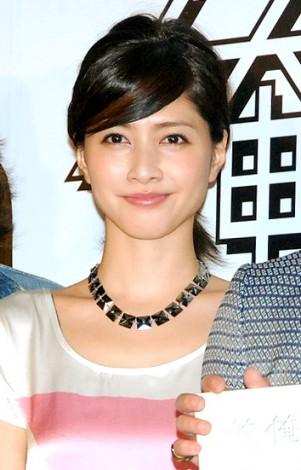 映画『俺俺』大ヒット決起イベントに亀梨和也と共に出席した内田有紀 (C)ORICON DD inc.