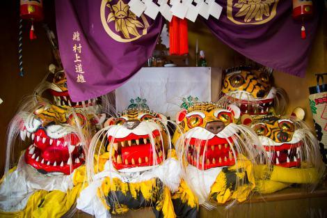 虎頭。『嵐の明日に架ける旅 〜希望の種を探しに行こう〜』は3月28日放送(C)NHK