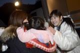 被災地を訪問したAKB48=宮城県女川町(写真は渡辺麻友) (C)AKS