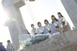 被災地を訪問したAKB48=岩手県山田町 (C)AKS