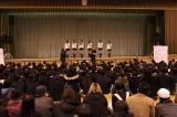被災地を訪問したAKB48=宮城県多賀城市 (C)AKS
