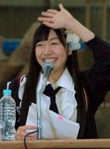 ラジオ『高柳明音(SKE48)の暗黙の了解』の公開収録を行った須田亜香里 (C)ORICON NewS inc.