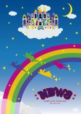 新生NEWSの全国ツアー初日の模様を収録したDVD『NEWS LIVE TOUR 2012 〜美しい恋にするよ〜』が初登場1位