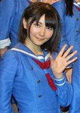 今月末でSKE48から卒業する秦佐和子 (C)ORICON DD inc.