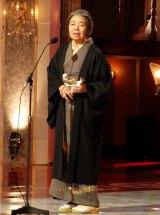 最優秀主演女優賞を最年長で受賞した樹木希林=『第36回日本アカデミー賞』授賞式 (C)ORICON DD inc.
