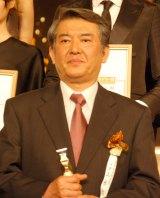 大滝秀治さんの代理として受賞した山本哲也=『第36回日本アカデミー賞』授賞式 (C)ORICON DD inc.
