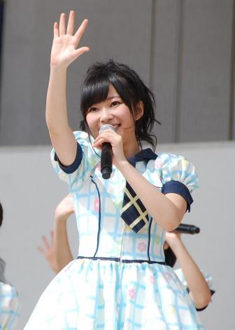 HKT48単独初の全国握手会イベントに登場した指原莉乃(20) (C)ORICON DD inc.