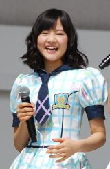 HKT48単独初の全国握手会イベントに登場した穴井千尋(17) (C)ORICON DD inc.