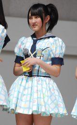 HKT48単独初の全国握手会イベントに登場した植木南央(15) (C)ORICON DD inc.