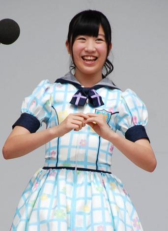 HKT48単独初の全国握手会イベントに登場した下野由貴(14) (C)ORICON DD inc.