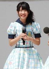 HKT48単独初の全国握手会イベントに登場した中西智代梨(17) (C)ORICON DD inc.