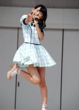 HKT48単独初の全国握手会イベントに登場した宮脇咲良(15) (C)ORICON DD inc.