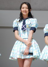 HKT48単独初の全国握手会イベントに登場した森保まどか(15) (C)ORICON DD inc.