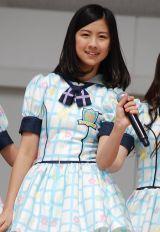 HKT48単独初の全国握手会イベントに登場した若田部遥(14) (C)ORICON DD inc.
