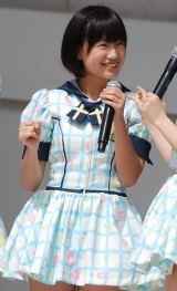 HKT48単独初の全国握手会イベントに登場した朝長美桜(14) (C)ORICON DD inc.