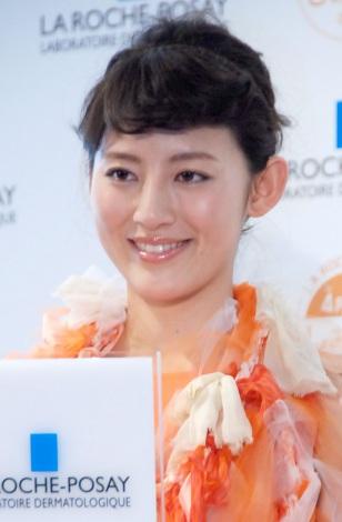 『しみゼロの記念日 ラ ロッシュ ポゼ Suhada Beauty Award 2013』授賞式に出席した福田彩乃 (C)ORICON NewS inc.