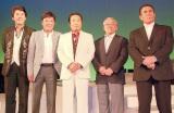 (左から)おりも政夫、江木俊夫、あおい輝彦、高橋元太郎、伊吹吾郎 (C)ORICON NewS inc.