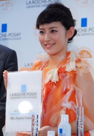 サムネイル 『ラ ロッシュ ポゼ Suhada Beauty Award 2013』を受賞した福田彩乃 (C)ORICON NewS inc.